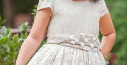 Vestidos de Primera Comunión para gorditas 2017