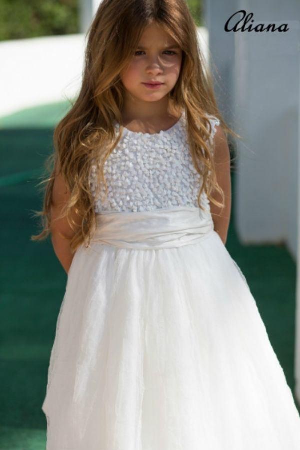Vestidos para primera comunion para ninas gorditas