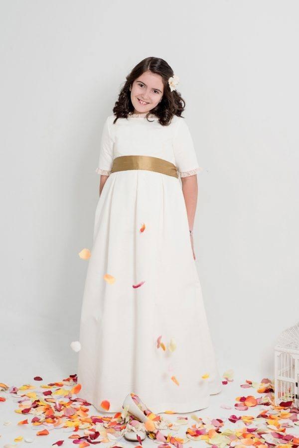 Vestidos de comunion para ninas rellenitas