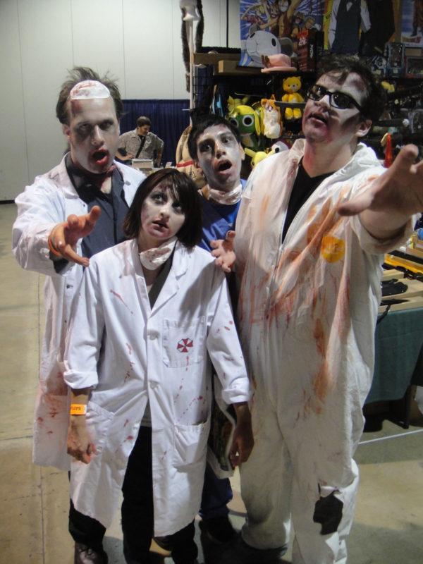 C mo maquillarse como resident evil paso a paso - Como maquillarse de zombie ...