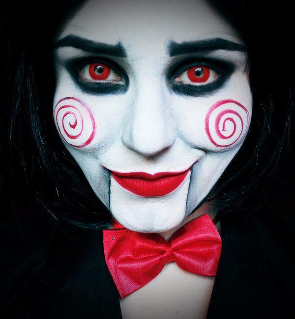 Como Maquillarse Como Jigsaw Para Halloween 2019 Paso A Paso