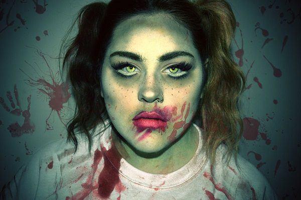 Pintura para halloween 2018 cara cuerpo colores y for Pinturas de cara para halloween