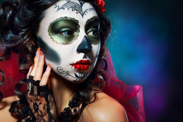 Pintura para cara cuerpo colores y fotos mexicano amable