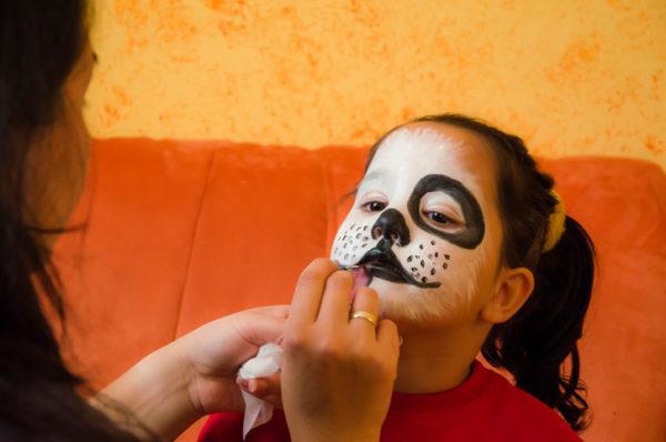Maquillaje para carnaval y halloween 2018 originales para niños cachorro
