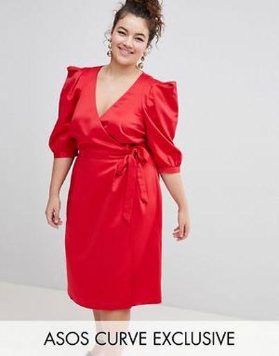 vestido-de-noche-gorditas-primavera-verano-rojo-cruzado-con-detalle-anudado-asos
