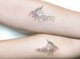 Los mejores tatuajes de unicornio 2018