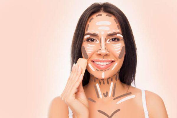 El mejor maquillaje para caras redondas trucos y consejos CONTORNO