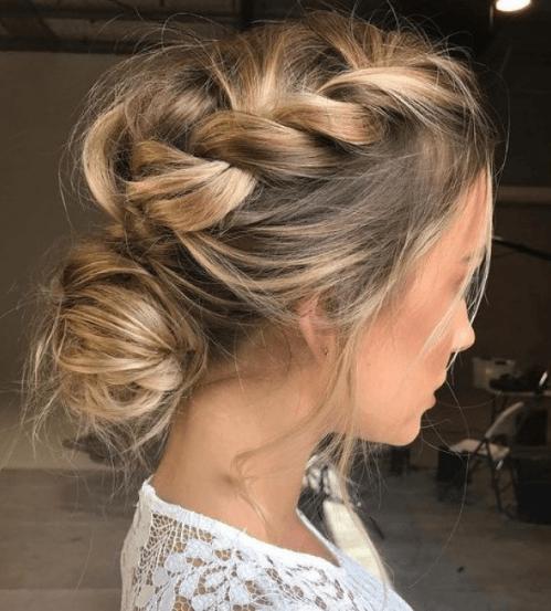 Peinados recogidos cabello corto 2019