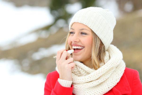 Protector de labios para el frío