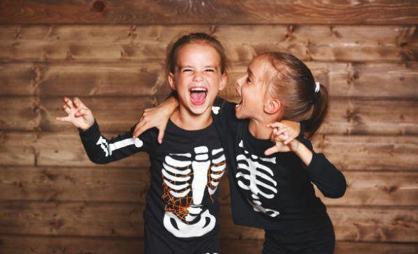 disfraz halloween niños esqueleto