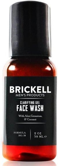 Clarifying Gel Face Wash for Men de Brickell