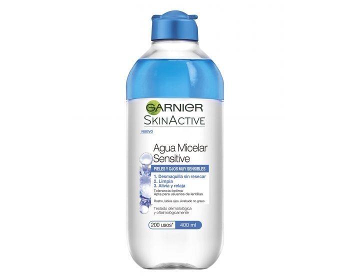 Agua micelar Sensitive Garnier